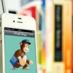 MailChimp app on a iPhone